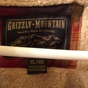 Grizzly Mountain Shirts - Men's Grizzly Mountain Plaid Winter Shirt